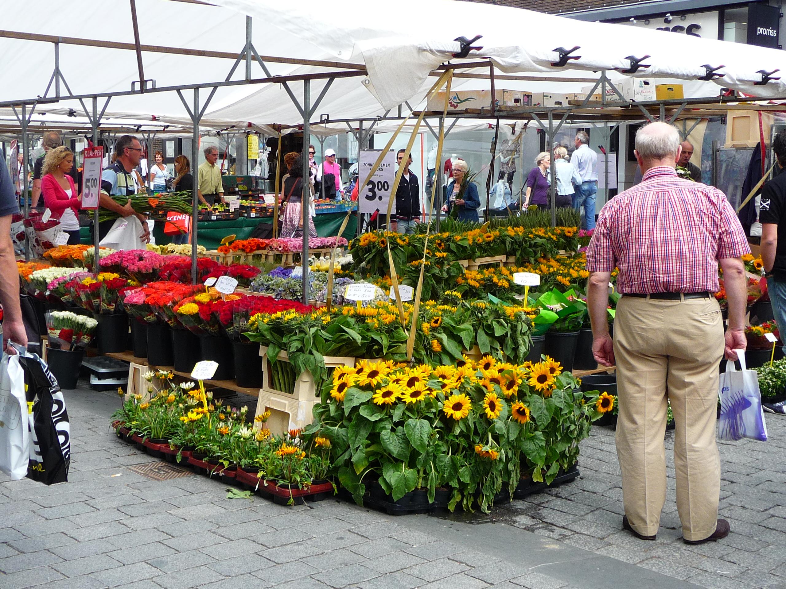 Bloemenmarkt Den Bosch